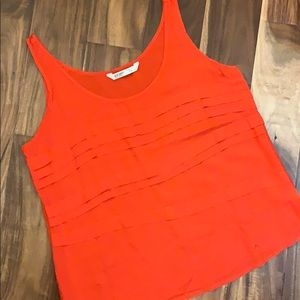 Orange Embellished Tank